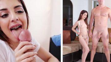 Tanara bruneta are nevoie de sex urgent